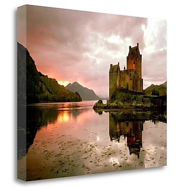 Tangletown Fine Art 'Eilean Donan, Scotland' Photographic Print on Wrapped Canvas; 19'' H x 24'' W