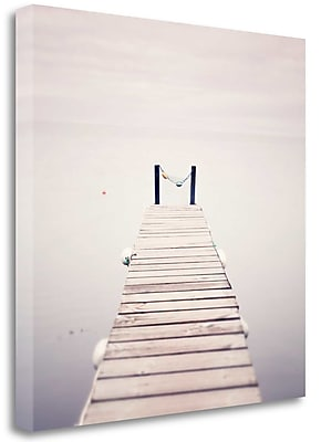 Tangletown Fine Art 'Take Me to the Horizon' Photographic Print on Wrapped Canvas; 26'' H x 26'' W