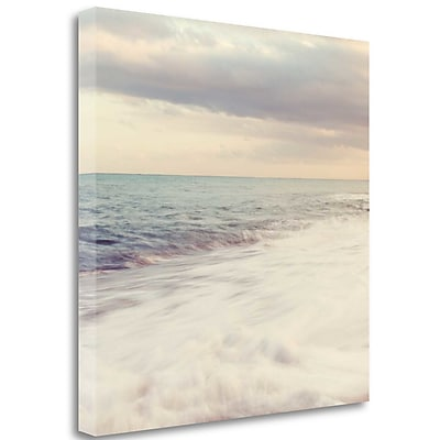 Tangletown Fine Art 'Waters Edge' Graphic Art Print on Wrapped Canvas; 25'' H x 25'' W