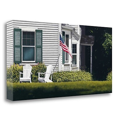 Tangletown Fine Art 'Summer Day' Photographic Print on Wrapped Canvas; 20'' H x 40'' W