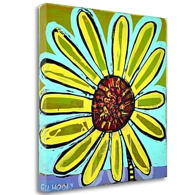 Tangletown Fine Art 'Big Head Bloomer 4' Print on Wrapped Canvas; 35'' H x 35'' W