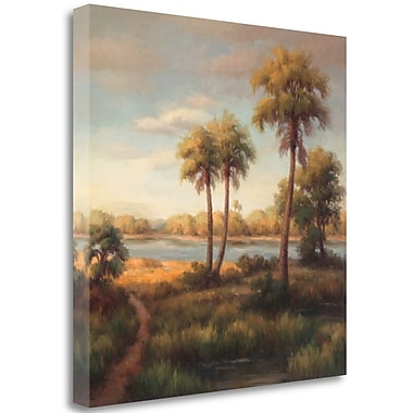 Tangletown Fine Art 'In the Tropics I' Print on Wrapped Canvas; 30'' H x 30'' W