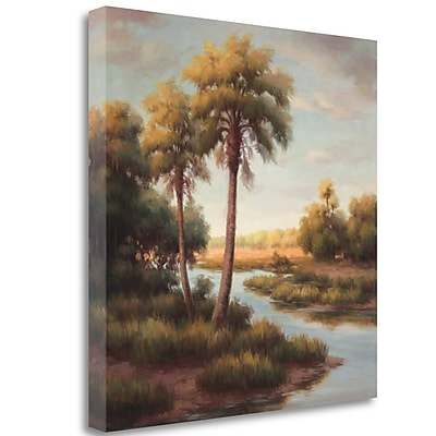 Tangletown Fine Art 'In the Tropics II' Print on Wrapped Canvas; 35'' H x 35'' W