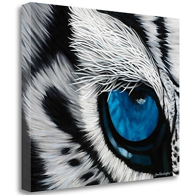 Tangletown Fine Art 'Tiger Eye' Graphic Art Print on Wrapped Canvas; 35'' H x 44'' W