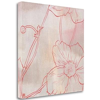 Tangletown Fine Art 'Anemone I' Print on Wrapped Canvas; 30'' H x 30'' W