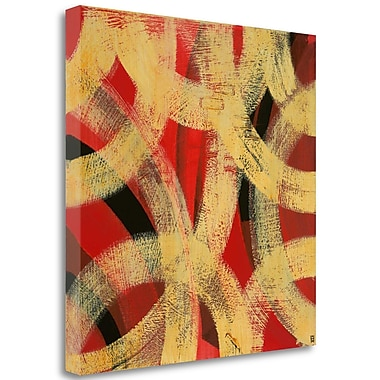 Tangletown Fine Art 'Equilibrium I' Print on Wrapped Canvas; 30'' H x 30'' W