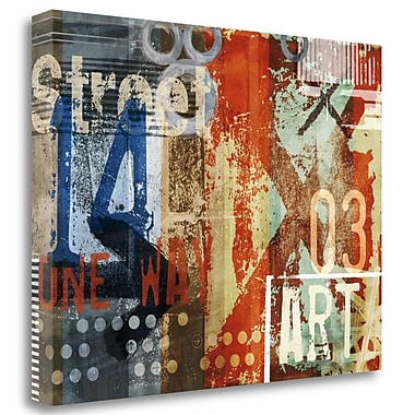 Tangletown Fine Art 'Art Type IV' Graphic Art Print on Wrapped Canvas; 25'' H x 32'' W