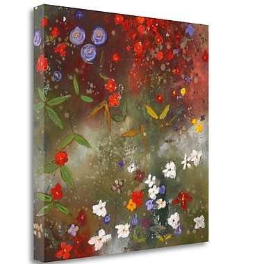 Tangletown Fine Art 'Gardens' Print on Wrapped Canvas; 30'' H x 30'' W