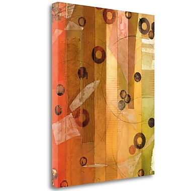 Tangletown Fine Art 'Of This World No. 11' Graphic Art Print on Wrapped Canvas; 34'' H x 27'' W