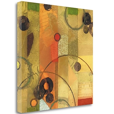 Tangletown Fine Art 'Of This World No. 15' Graphic Art Print on Wrapped Canvas; 30'' H x 30'' W