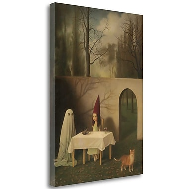 Tangletown Fine Art 'Coven of One' Graphic Art Print on Wrapped Canvas; 29'' H x 21'' W