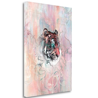 Tangletown Fine Art 'Illusive by Nature' Graphic Art Print on Wrapped Canvas; 40'' H x 28'' W