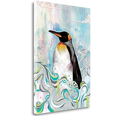 Tangletown Fine Art 'King' Print on Wrapped Canvas; 32'' H x 23'' W