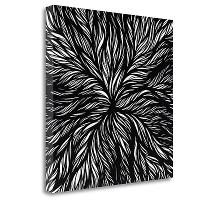 Tangletown Fine Art 'Dissolution' Graphic Art Print on Wrapped Canvas; 25'' H x 25'' W