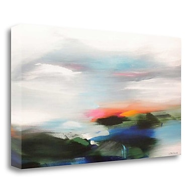 Tangletown Fine Art 'After the Storm' Print on Wrapped Canvas; 22'' H x 40'' W