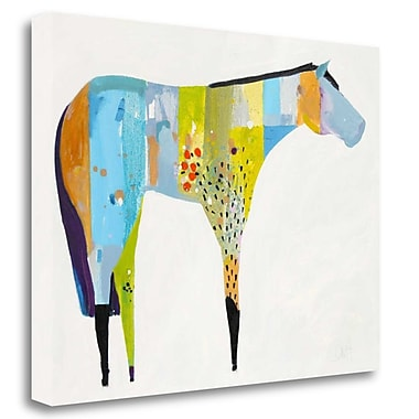 Tangletown Fine Art 'Horse No. 27' Print on Wrapped Canvas; 20'' H x 26'' W