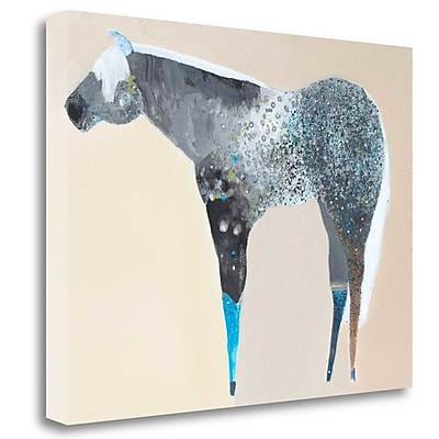 Tangletown Fine Art 'Horse No. 66' Print on Wrapped Canvas; 21'' H x 28'' W
