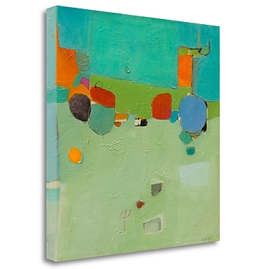 Tangletown Fine Art 'A Skip and a Roll' Print on Wrapped Canvas; 28'' H x 28'' W