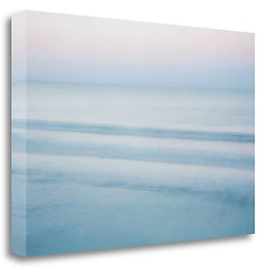Tangletown Fine Art 'Three Waves - Crescent Beach' Graphic Art Print on Wrapped Canvas