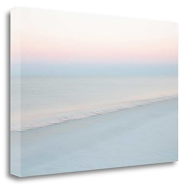 Tangletown Fine Art 'Crescent Beach #9' Graphic Art Print on Wrapped Canvas; 20'' H x 29'' W