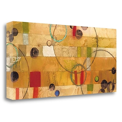 Tangletown Fine Art 'Of This World No. 16' Graphic Art Print on Wrapped Canvas; 23'' H x 48'' W