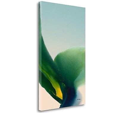 Tangletown Fine Art 'Flora 9' Print on Wrapped Canvas; 40'' H x 24'' W