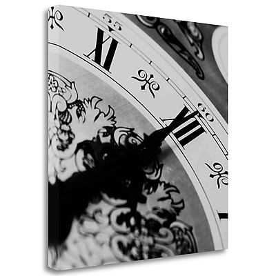 Tangletown Fine Art 'Clockwork 1' Photographic Print on Wrapped Canvas; 25'' H x 25'' W