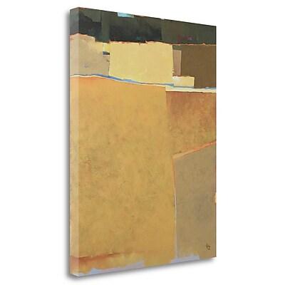 Tangletown Fine Art 'Bean Field' Print on Wrapped Canvas; 28'' H x 22'' W