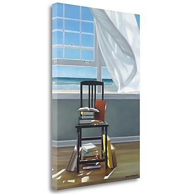 Tangletown Fine Art 'Beach Scholar' Photographic Print on Wrapped Canvas; 32'' H x 21'' W