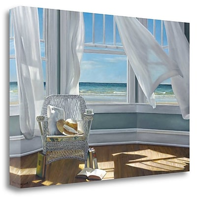 Tangletown Fine Art 'Gentle Reader' Photographic Print on Wrapped Canvas; 33'' H x 48'' W