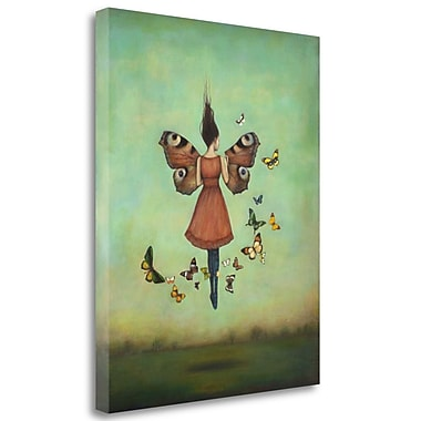 Tangletown Fine Art 'Imago Sky' Graphic Art Print on Wrapped Canvas; 28'' H x 23'' W