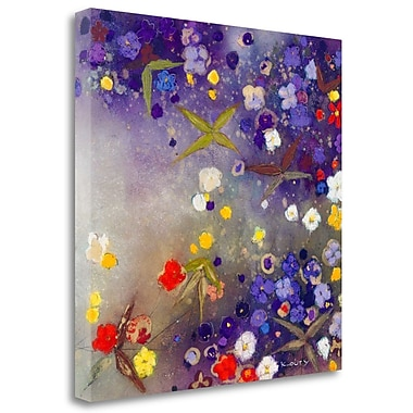 Tangletown Fine Art 'Gardens' Print on Wrapped Canvas; 25'' H x 25'' W