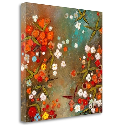 Tangletown Fine Art 'Gardens' Print on Wrapped Canvas; 30'' H x 30'' W