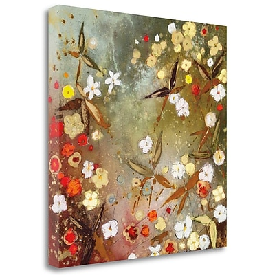 Tangletown Fine Art 'Gardens' Print on Wrapped Canvas; 35'' H x 35'' W