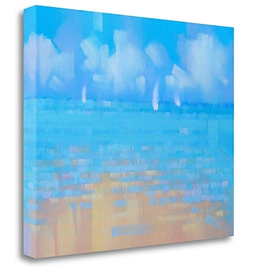 Tangletown Fine Art 'Playa 16' Print on Wrapped Canvas; 26'' H x 32'' W
