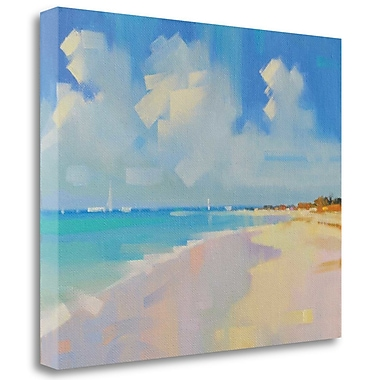 Tangletown Fine Art 'Playa 8' Print on Wrapped Canvas; 27'' H x 33'' W