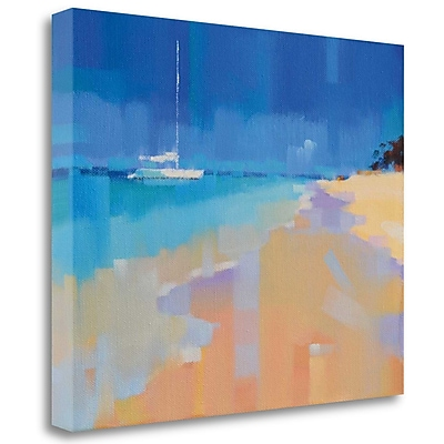Tangletown Fine Art 'Sound of Paradise' Print on Wrapped Canvas; 32'' H x 40'' W