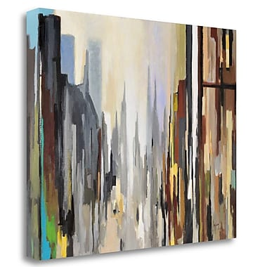 Tangletown Fine Art 'Cathedral' Print on Wrapped Canvas; 21'' H x 27'' W
