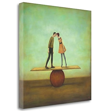 Tangletown Fine Art 'Finding Equilibrium' Graphic Art Print on Wrapped Canvas; 35'' H x 35'' W