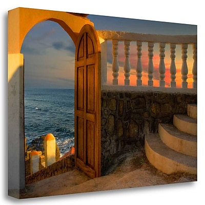 Tangletown Fine Art 'Temptation' Photographic Print on Wrapped Canvas; 23'' H x 34'' W