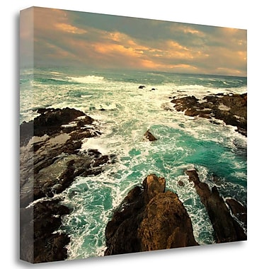 Tangletown Fine Art 'Heavens Gate' Photographic Print on Wrapped Canvas; 21'' H x 28'' W