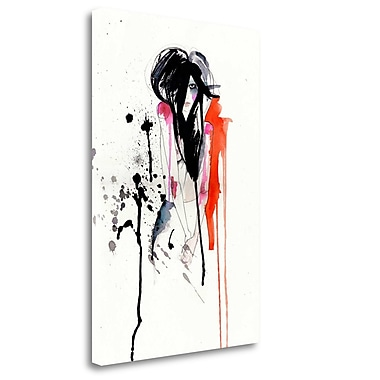 Tangletown Fine Art 'Crush' Print on Wrapped Canvas; 28'' H x 19'' W