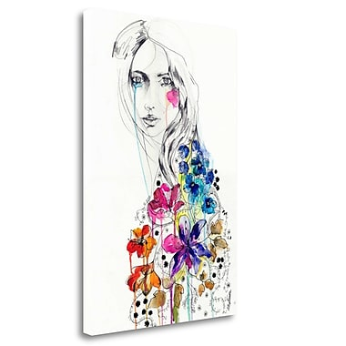 Tangletown Fine Art 'Lost' Print on Wrapped Canvas; 40'' H x 26'' W