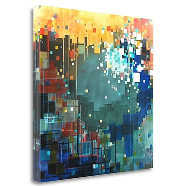 Tangletown Fine Art 'The Color of Hope' Graphic Art Print on Wrapped Canvas; 29'' H x 29'' W