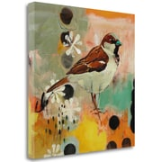 Tangletown Fine Art 'Listening to Secrets' Print on Wrapped Canvas; 29'' H x 29'' W