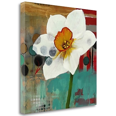 Tangletown Fine Art 'Daffodil Mannerisms' Print on Wrapped Canvas; 23'' H x 23'' W