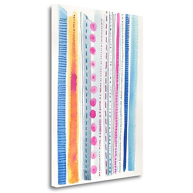 Tangletown Fine Art 'Flow' Print on Wrapped Canvas; 28'' H x 20'' W