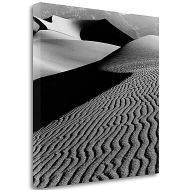 Tangletown Fine Art 'Desert Dunes' Graphic Art Print on Wrapped Canvas; 29'' H x 29'' W