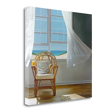 Tangletown Fine Art 'Tea Time' Photographic Print on Wrapped Canvas; 35'' H x 35'' W