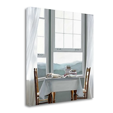 Tangletown Fine Art 'Accidental Scholar' Photographic Print on Wrapped Canvas; 30'' H x 30'' W